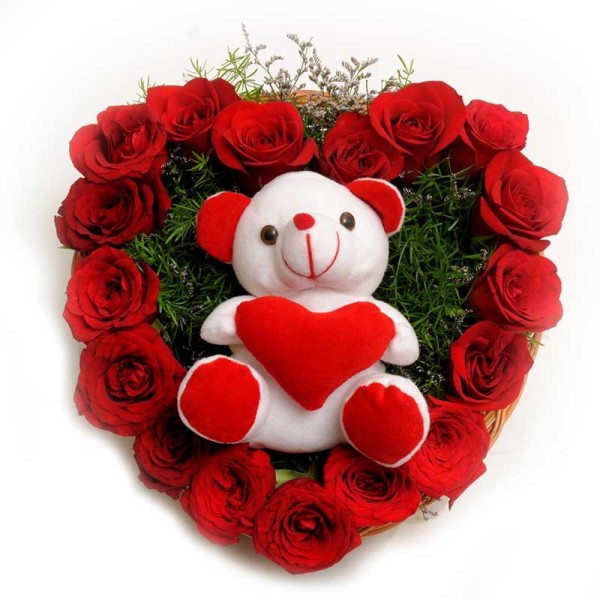 FNP_Roses_N_Soft_toy_Valentine's Day_2015_giftease