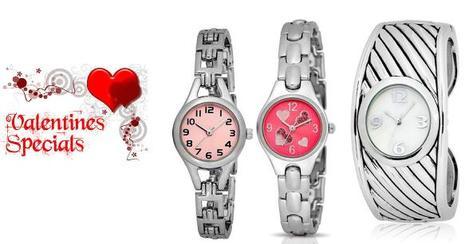 Happy Valentine's Day 2015 Gift for her (Girlfriend) - Valentine's Watches