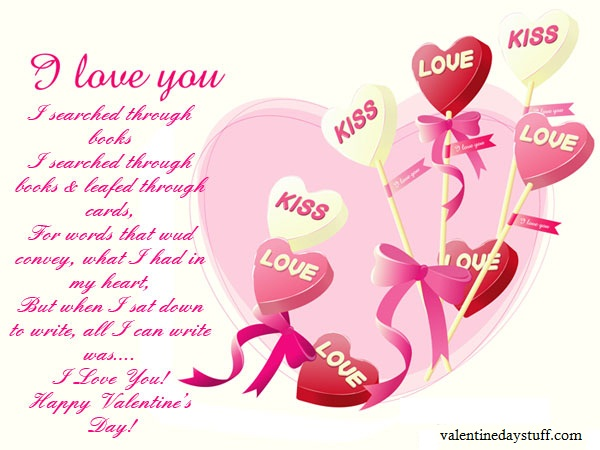 Happy Valentine Day Greeting Cards 2015 for Friends