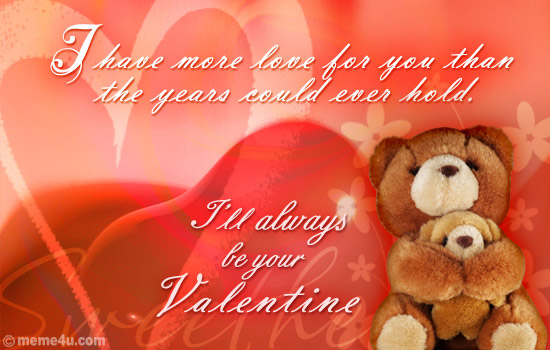 Happy Valentine's Day 2015 Gift for her (Girlfriend) - Greeting Cards